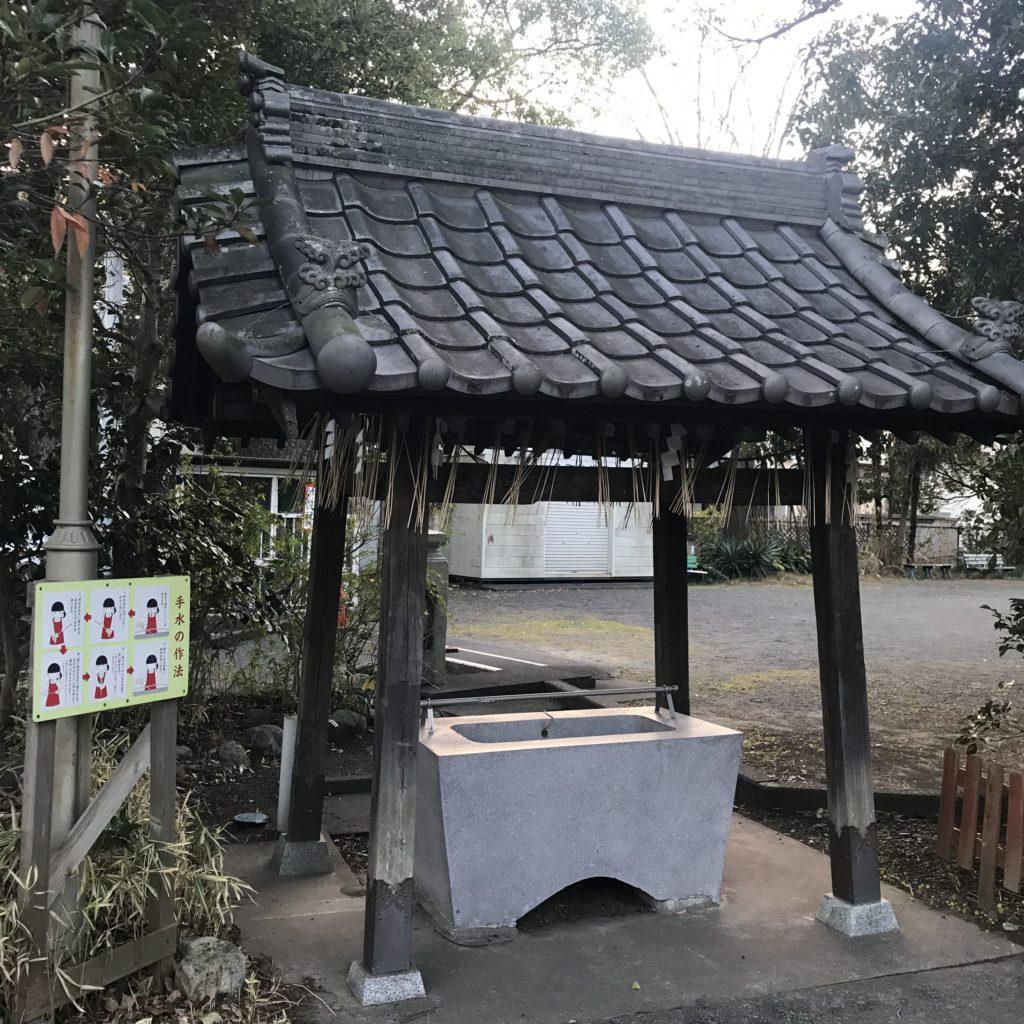 魚町稲荷神社の手水舎