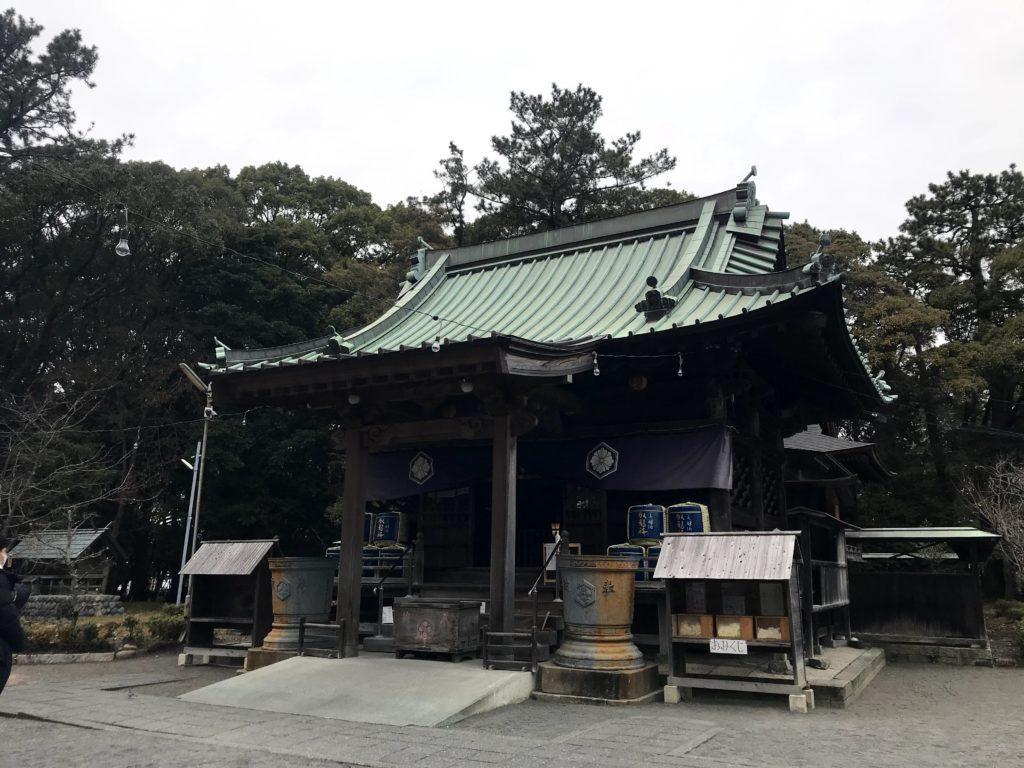 御穂神社|御社殿