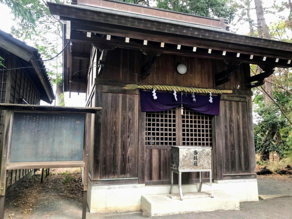 御穂神社|神馬
