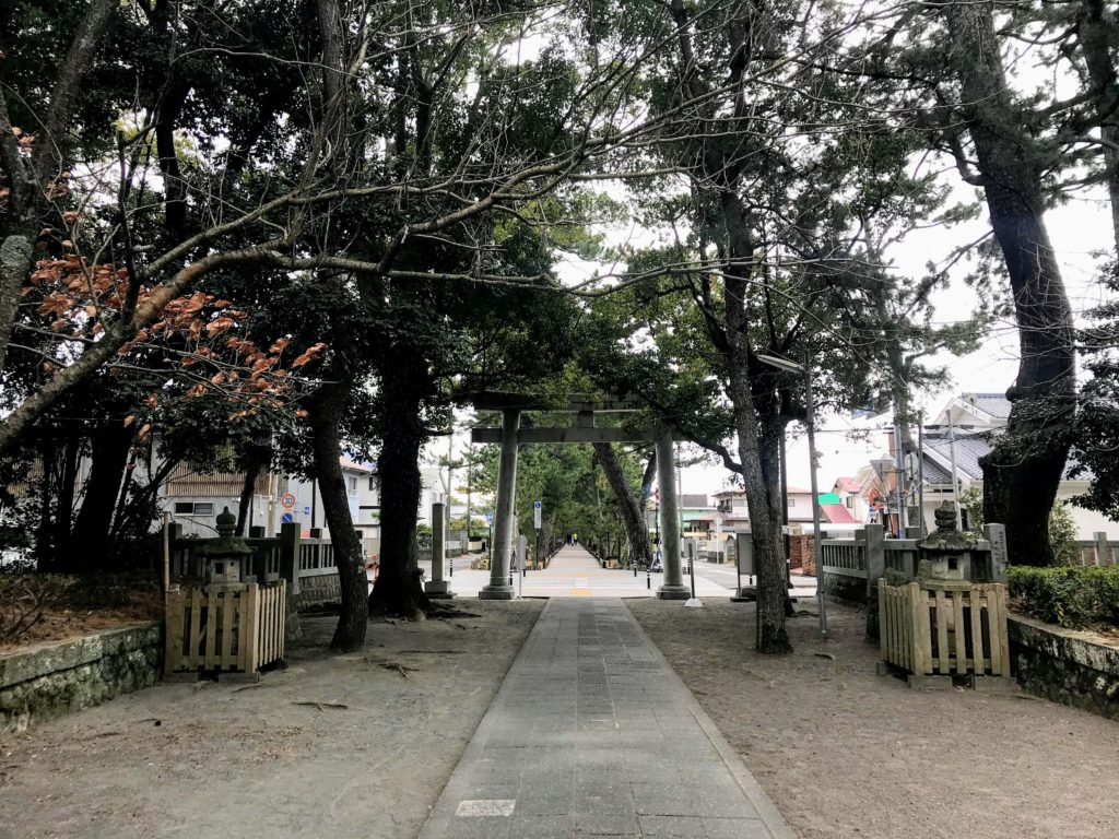 御穂神社|鳥居