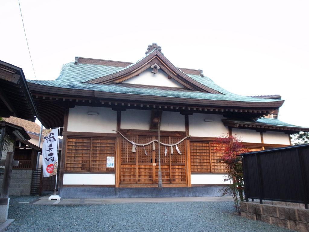 西宮神社の御社殿