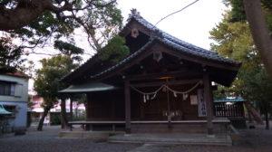青木神社 拝殿