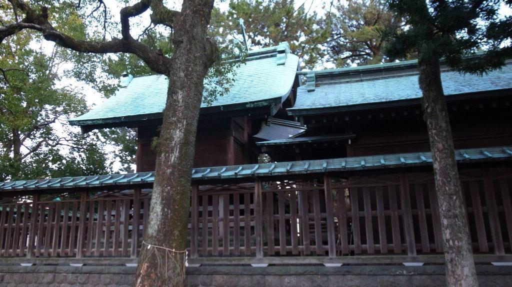 青木神社 本殿