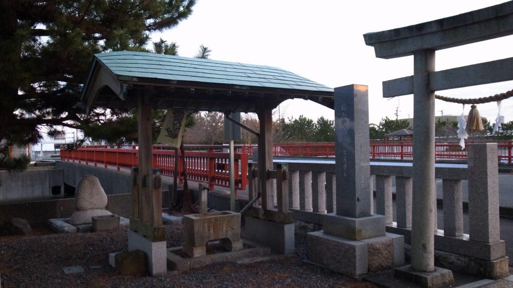 船玉浦神社|手水舎