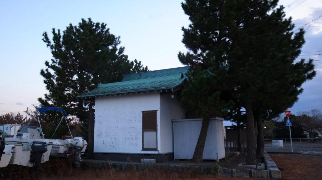 船玉浦神社の本殿?