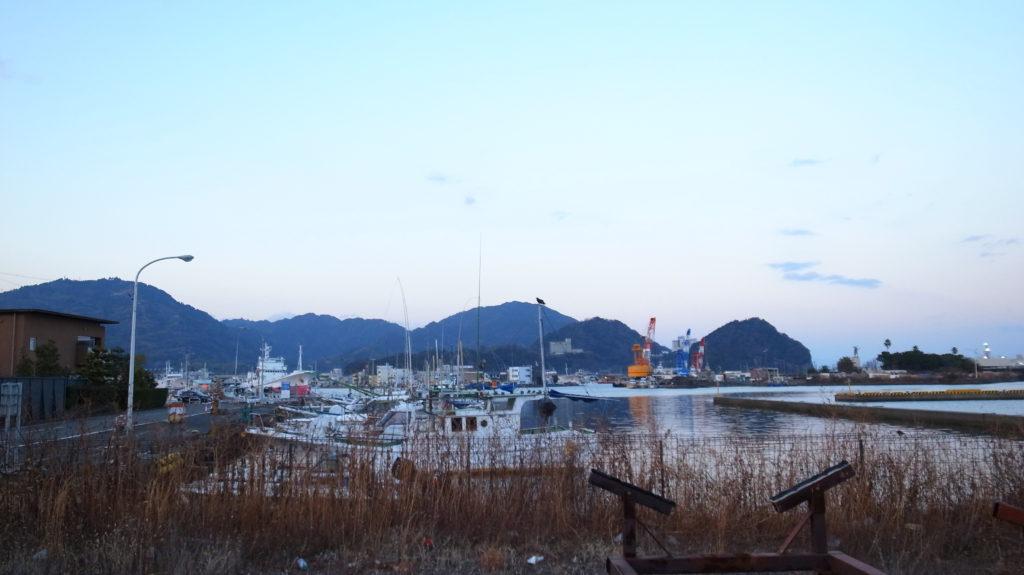 船玉浦神社の背景