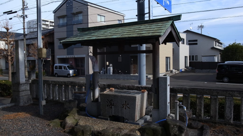 須賀神社の手水舎