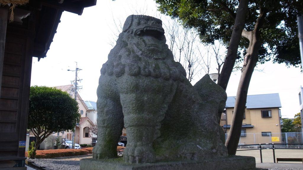 須賀神社の獅子