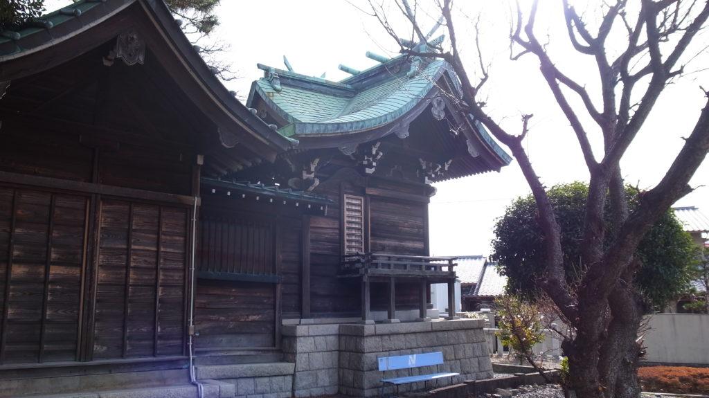 須賀神社の御社殿