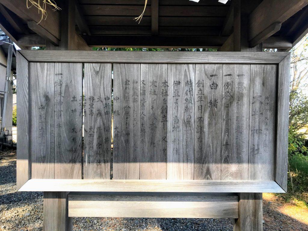 大井神社|由緒