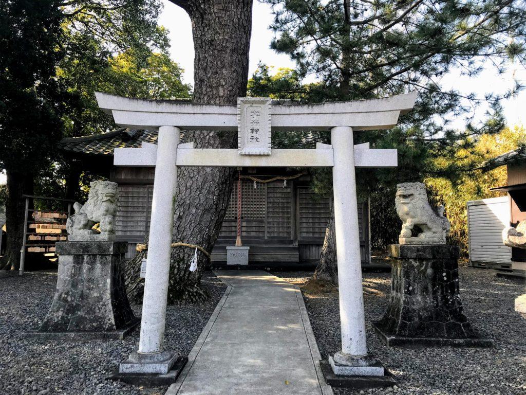 大井神社|鳥居
