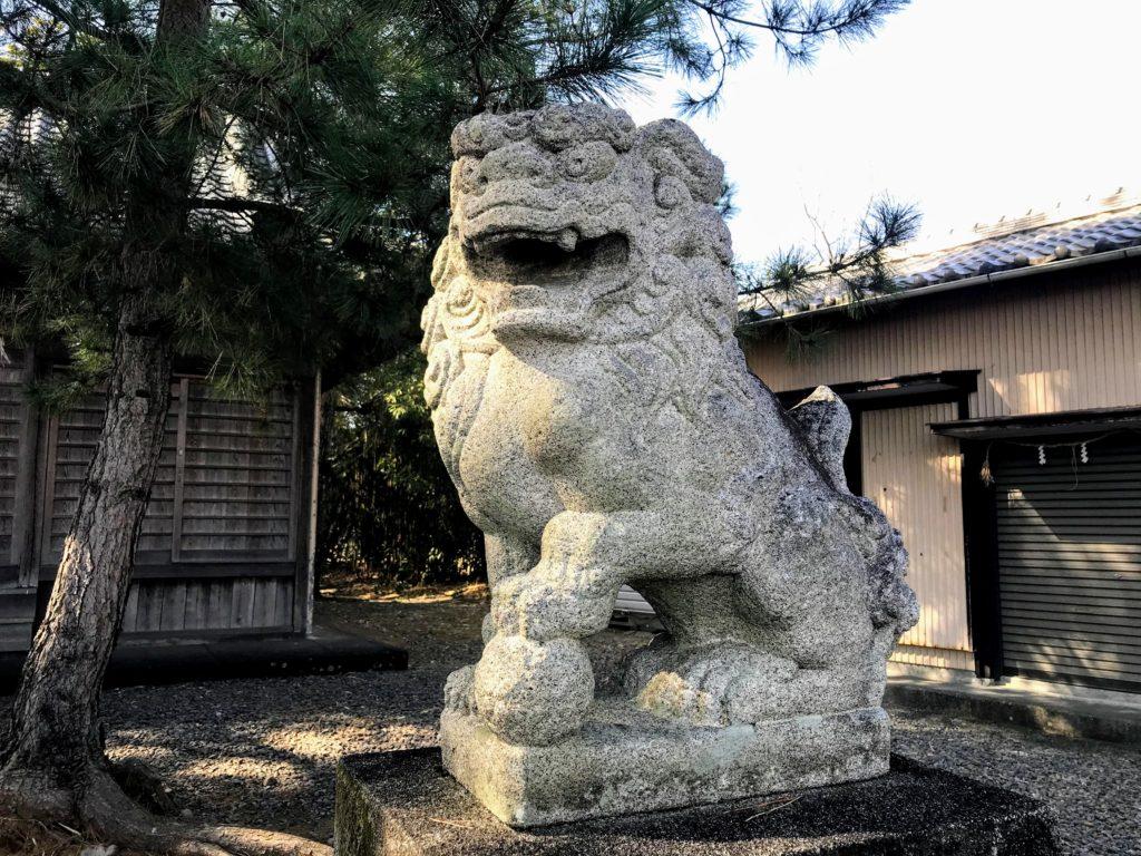 大井神社|狛犬