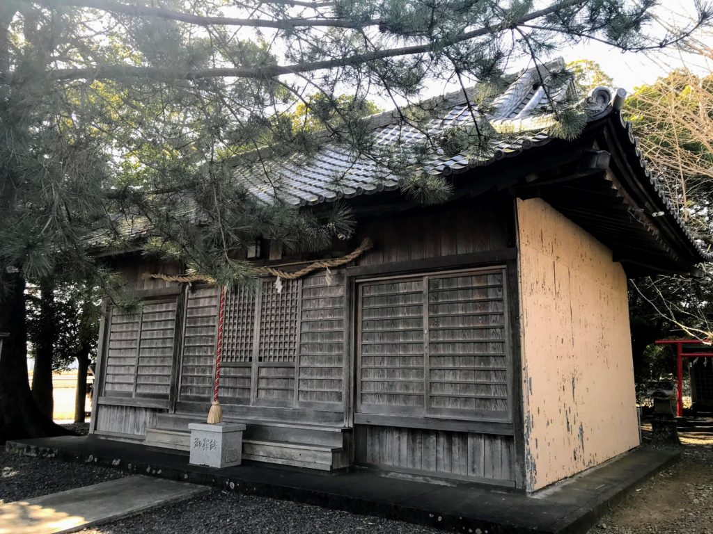 大井神社|拝殿
