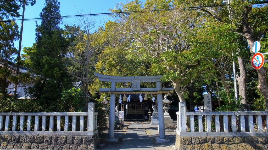 栄田神社|鳥居
