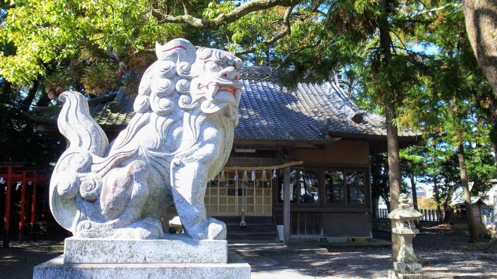栄田神社|狛犬