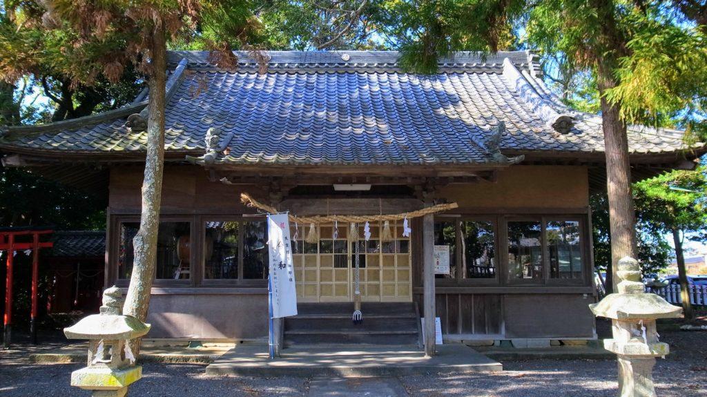 栄田神社|拝殿