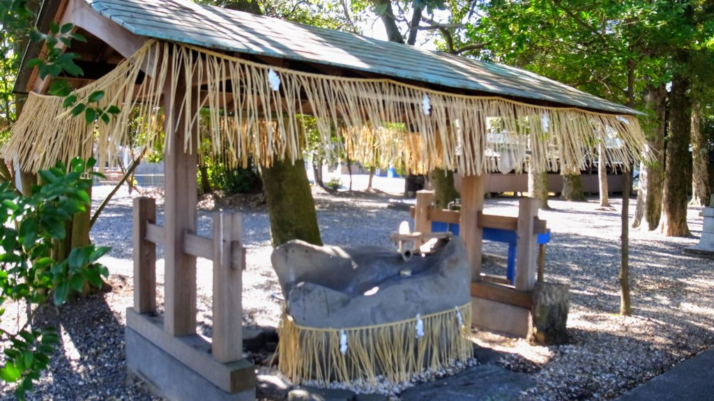 加茂神社|手水舎