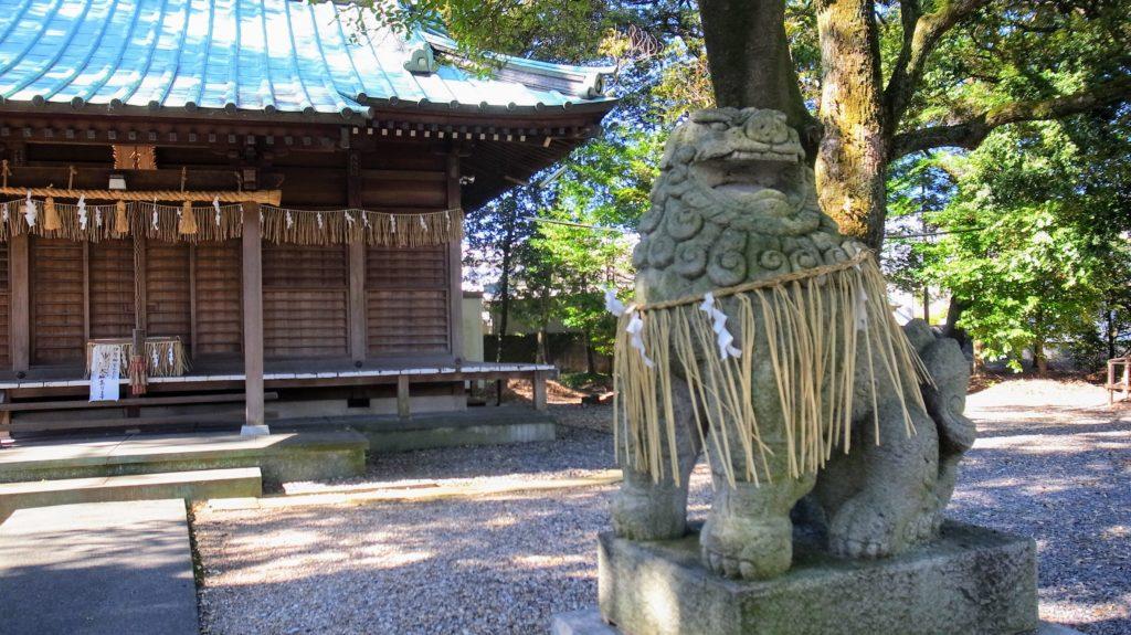 加茂神社|狛犬
